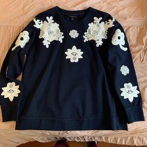 Brand New Victoria Beckham Embroidered Sweater